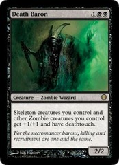 Death Baron - Foil on Channel Fireball