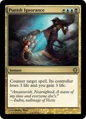 Punish Ignorance - Foil