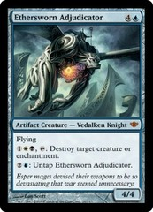 Ethersworn Adjudicator - Foil on Channel Fireball