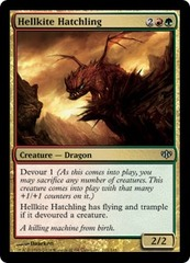 Hellkite Hatchling - Foil