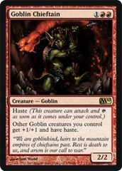 Goblin Chieftain - Foil on Channel Fireball