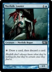 Merfolk Looter - Foil on Ideal808