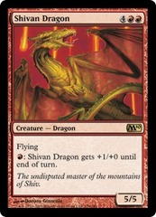 Shivan Dragon - Foil on Ideal808