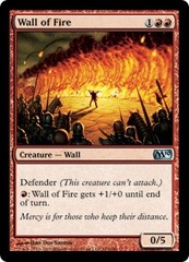 Wall of Fire - Foil on Ideal808
