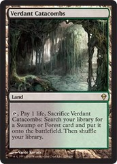 Verdant Catacombs - Foil on Channel Fireball