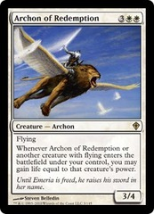 Archon of Redemption - Foil on Channel Fireball