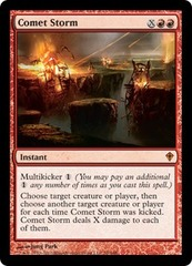Comet Storm - Foil on Channel Fireball