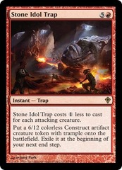 Stone Idol Trap - Foil