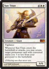 Sun Titan - Foil on Ideal808