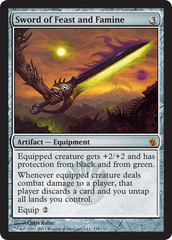 Sword of Feast and Famine - Foil on Channel Fireball