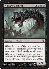 Massacre Wurm - Foil on Channel Fireball