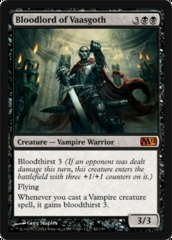 Bloodlord of Vaasgoth - Foil on Channel Fireball
