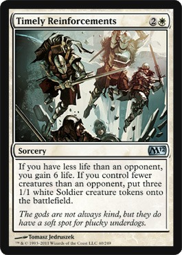 Timely Reinforcements - Foil