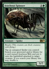 Arachnus Spinner - Foil on Channel Fireball