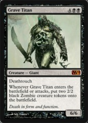 Grave Titan - Foil on Channel Fireball