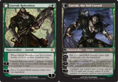 Garruk Relentless // Garruk, the Veil-Cursed - Foil on Channel Fireball