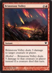 Brimstone Volley - Foil