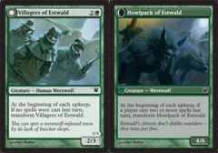 Villagers of Estwald // Howlpack of Estwald - Foil