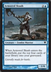 Armored Skaab - Foil on Channel Fireball