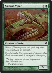 Ambush Viper - Foil on Channel Fireball