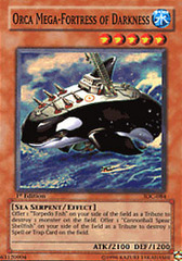 Orca Mega-Fortress of Darkness - IOC-084 - Super Rare - Unlimited Edition