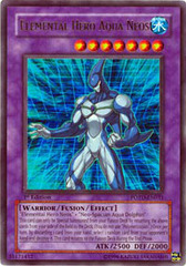 Elemental Hero Aqua Neos - POTD-EN031 - Ultra Rare - Unlimited Edition