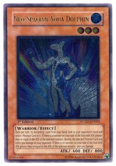 Neo-Spacian Aqua Dolphin - Ultimate - POTD-EN003 - Ultimate Rare - Unlimited