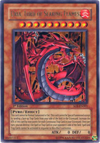 Uria, Lord of Searing Flames - SOI-EN001 - Ultra Rare - Unlimited Edition