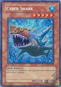 Cyber Shark - TDGS-EN086 - Secret Rare - Unlimited Edition