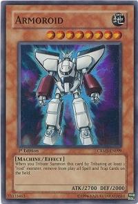 Armoroid - CRMS-EN099 - Super Rare - Unlimited Edition