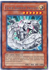 Cyber Barrier Dragon - DP04-EN002 - Rare - Unlimited Edition