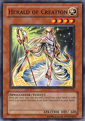 Herald of Creation - SDRL-EN003 - Common - Unlimited Edition on Channel Fireball
