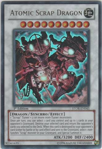 Atomic Scrap Dragon - STOR-EN043 - Ultra Rare - Unlimited Edition
