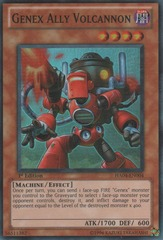 Genex Ally Volcannon - HA04-EN004 - Super Rare - Unlimited Edition