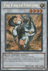 The Fabled Unicore - HA04-EN027 - Secret Rare - Unlimited Edition