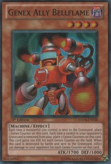 Genex Ally Bellflame - HA04-EN038 - Super Rare - Unlimited Edition
