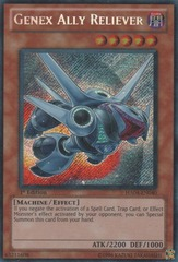 Genex Ally Reliever - HA04-EN040 - Secret Rare - Unlimited Edition