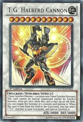 T.G. Halberd Cannon - EXVC-EN043 - Ultra Rare - Unlimited Edition