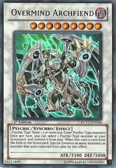 Overmind Archfiend - EXVC-EN044 - Ultra Rare - Unlimited Edition