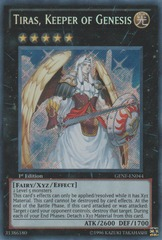 Tiras, Keeper of Genesis - GENF-EN044 - Secret Rare - Unlimited Edition