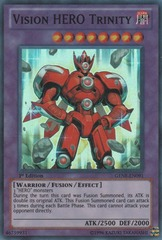 Vision HERO Trinity - GENF-EN091 - Super Rare - Unlimited Edition