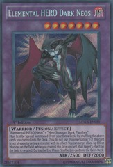 Elemental HERO Dark Neos - LCGX-EN059 - Secret Rare - 1st Edition