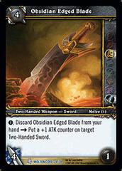 Obsidian Edged Blade