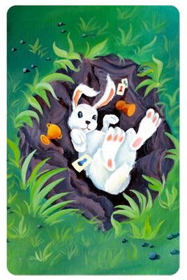 Dixit Odyssey: Bunny promo card