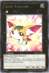 Baby Tiragon - PHSW-EN038 - Rare - 1st Edition on Channel Fireball