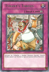 Tyrant's Throes - PHSW-EN076 - Rare - 1st Edition