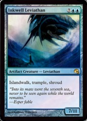 Inkwell Leviathan - Foil on Channel Fireball