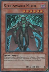 Steelswarm Moth - HA05-EN048 - Super Rare - 1st Edition
