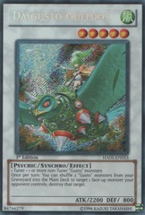 Daigusto Gulldos - HA05-EN053 - Secret Rare - 1st Edition on Channel Fireball