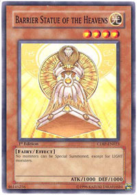 Barrier Statue of the Heavens - CDIP-EN023 - Common - 1st Edition